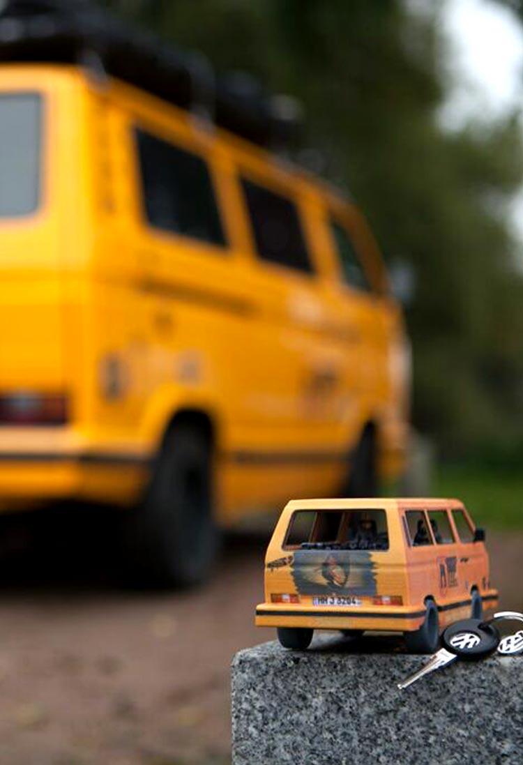 3D VW Bus
