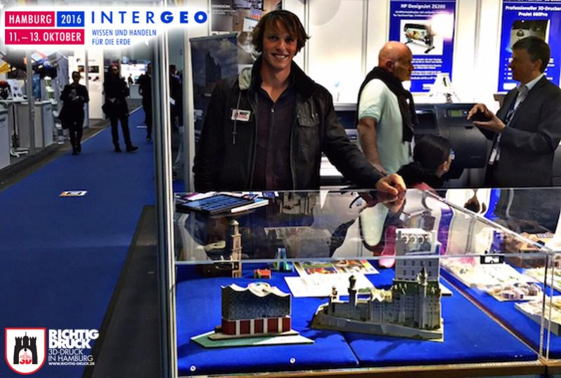 INTERGEO Messe 3D Druck