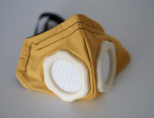 Ein richtiger Hingucker – Covid19 Maske