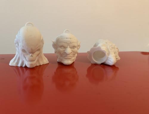 Gruselfaktor aus dem 3D Drucker